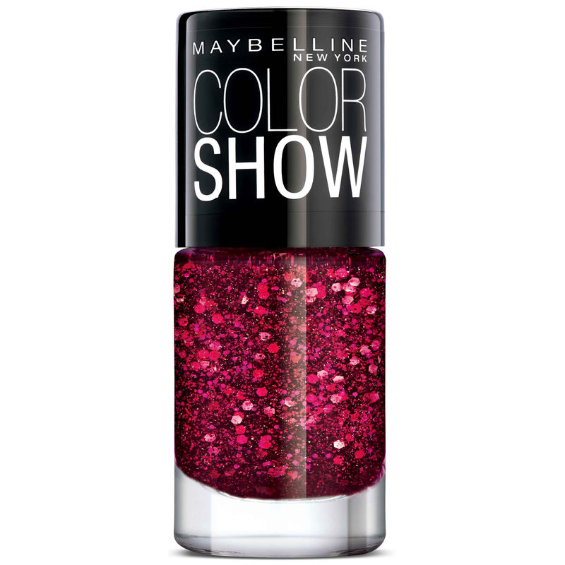 Maybelline New York Color Show Party Girl Nail Paint at Nykaa.com