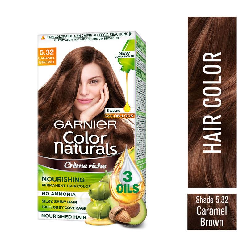Garnier Color Naturals Creme Hair Color 5 32 Caramel