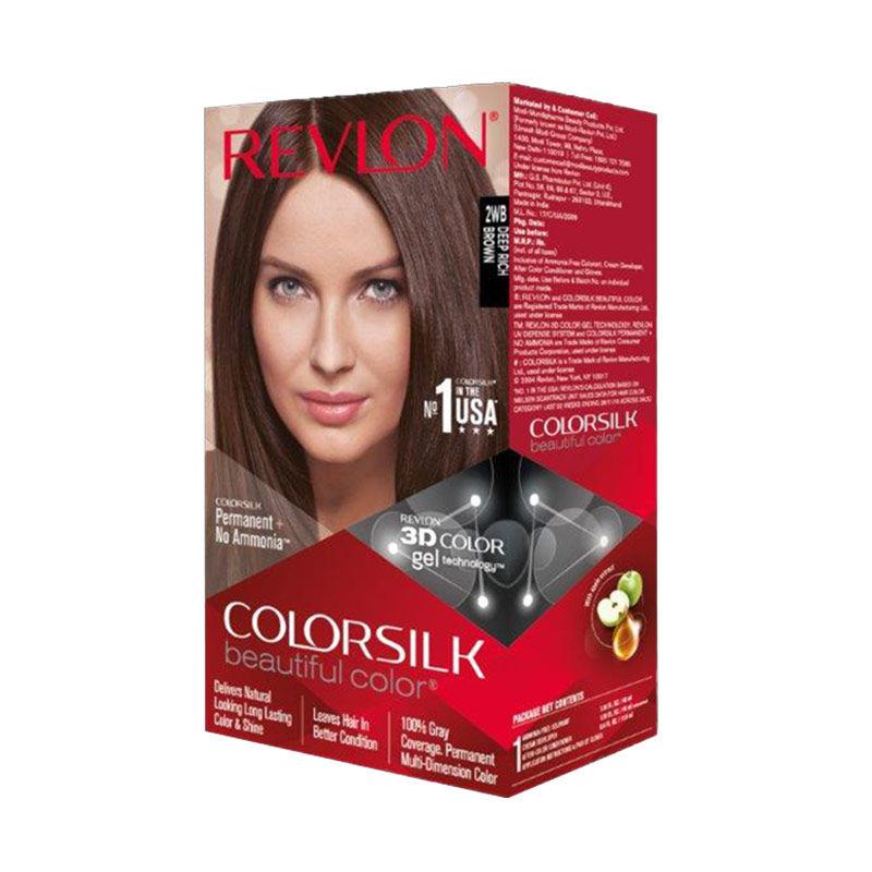 Revlon Colorsilk Hair Color Deep Rich Brown 2WB