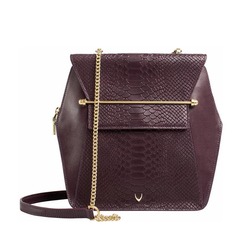 527763abd9ab Hidesign DELILAH 02 Purple Sling Bag