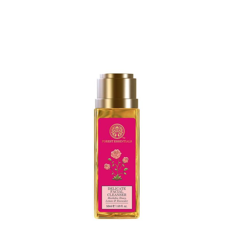 Forest Essentials Delicate Facial Cleanser - Mashobra Honey, Lemon & Rosewater (Travel Mini)