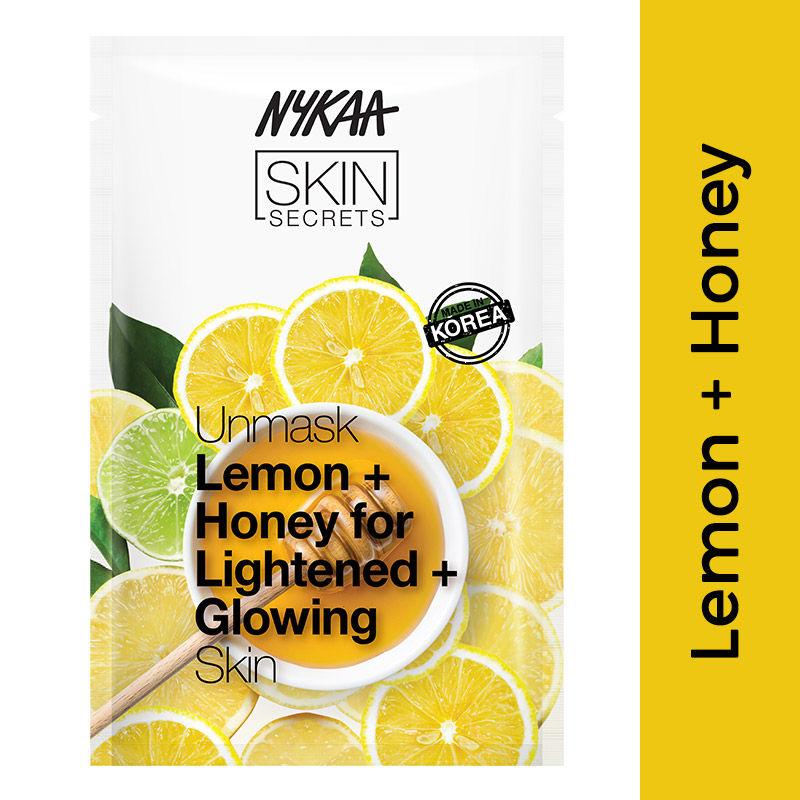 Nykaa Skin Secrets Lemon + Honey Sheet Mask