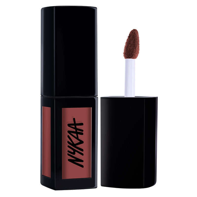Nykaa Matte To Last Liquid Lipstick Jhumki 14 At Nykaacom