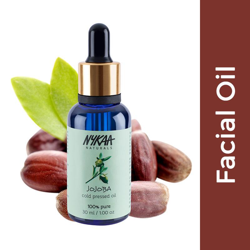 Nykaa Naturals Jojoba Facial Oil - Pure Cold Pressed