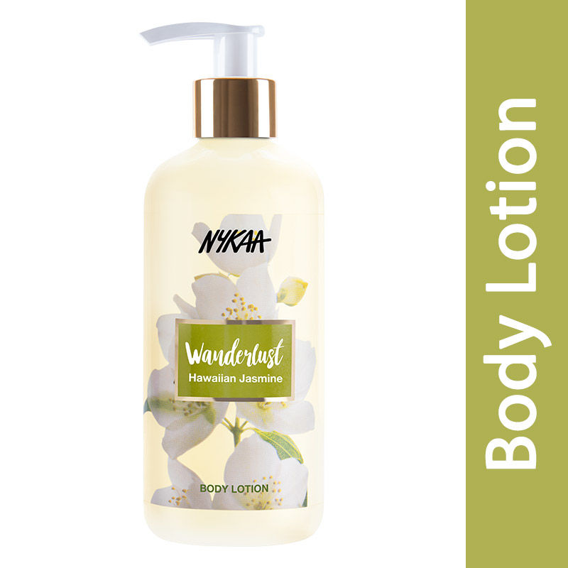 Nykaa Wanderlust Body Lotion - Hawaiian Jasmine