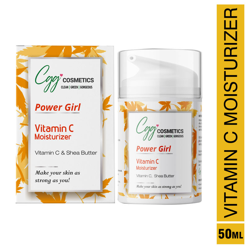 CGG Cosmetics Vitamin C Moisturiser - Powerful Restorative Anti-Aging  Formula(50ml)