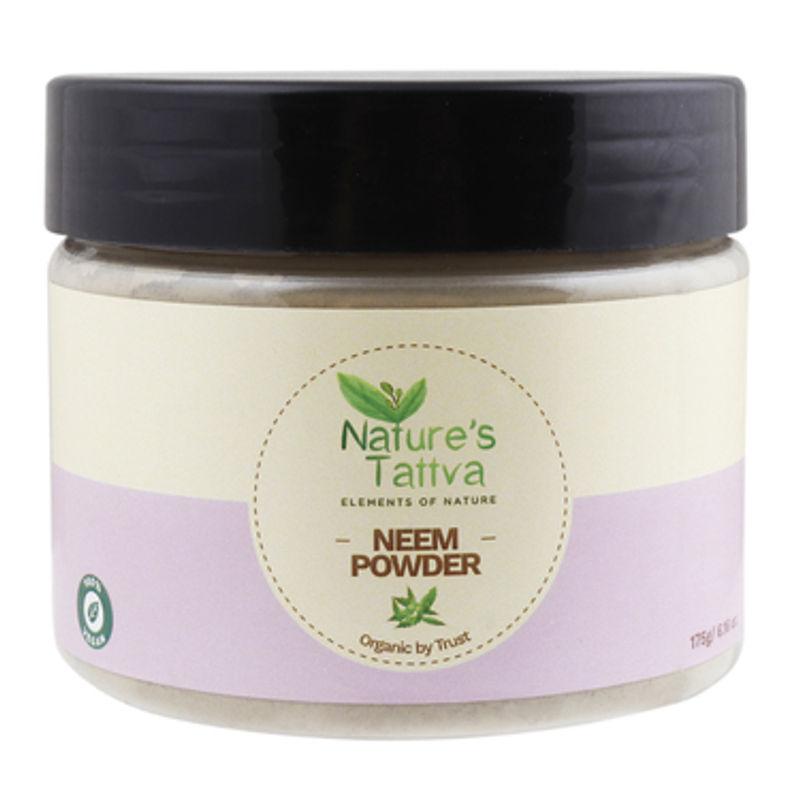 Nature's Tattva Pure & Certified Organic Neem Powder