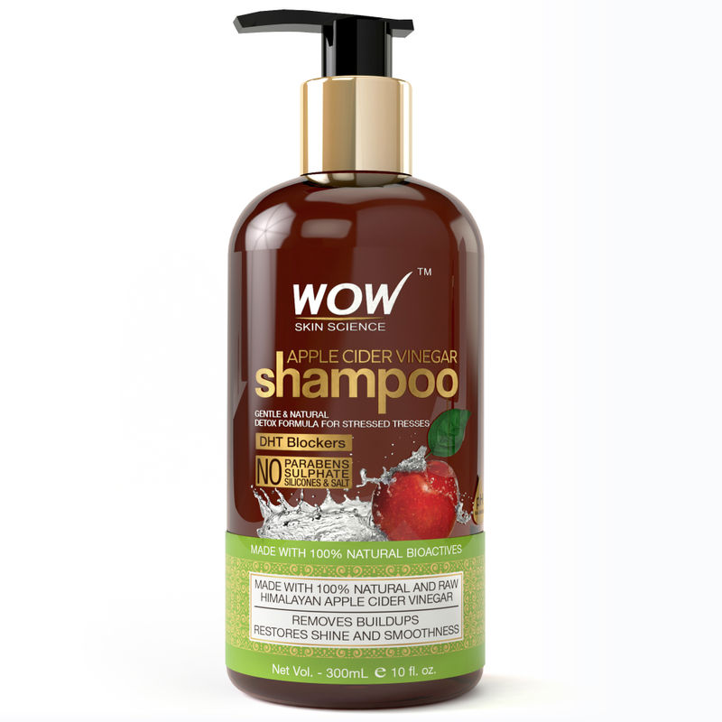 3438ef1c2 WOW Skin Science Apple Cider Vinegar Shampoo No Sulphate Paraben Free(300ml)