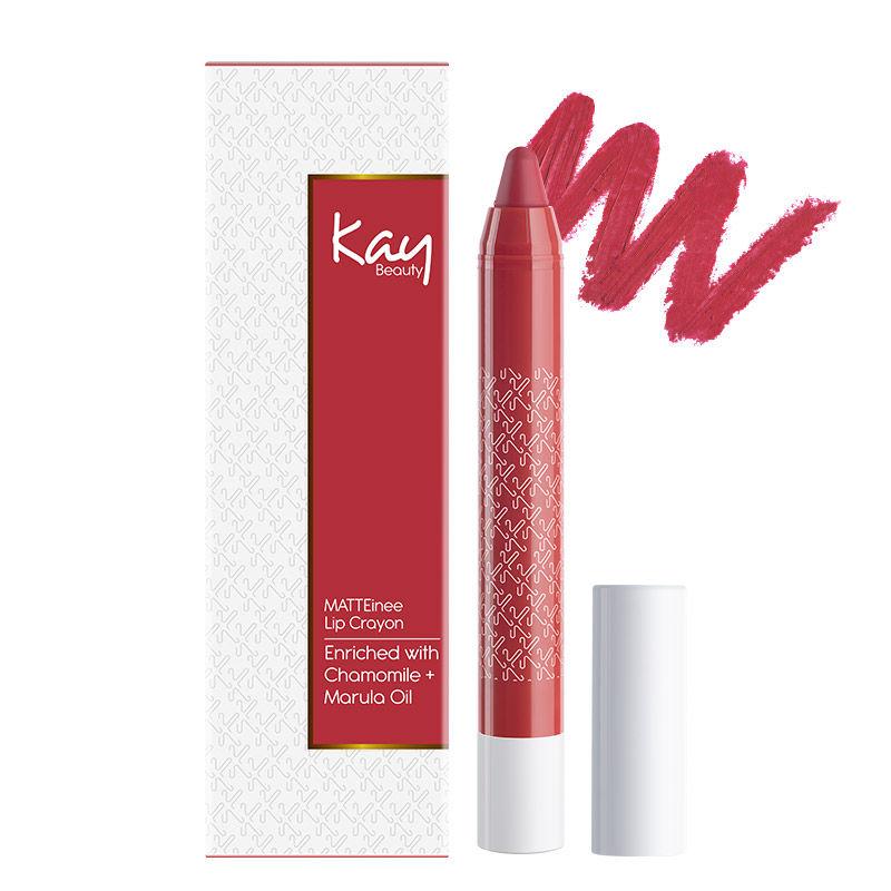 Kay Beauty Matteinee Matte Lipstick - Rom Com