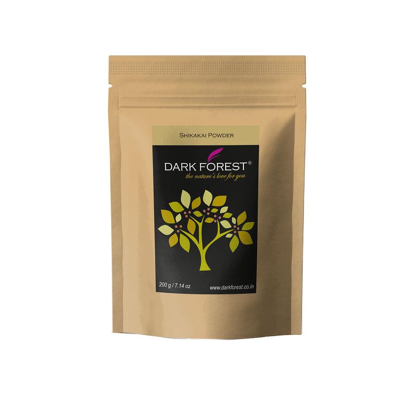 Buy Dark Forest Shikakai Powder Acacia Concinna At Nykaacom