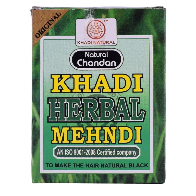 9e2d38142 Khadi Natural Herbal Black Mehndi - 100Gm at Nykaa.com