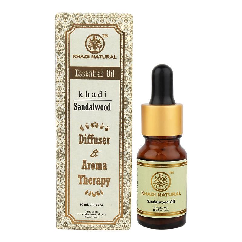 Khadi Natural Sandalwood Essential Oil(50% Extra)