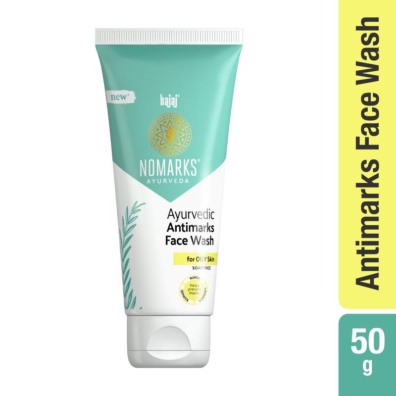 Bajaj Nomarks Ayurvedic Antimarks Facewash for Oily Skin