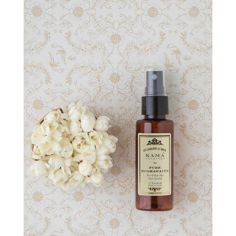 Buy Kama Ayurveda Pure Mogra Water Face & Body Mist at Nykaa.com
