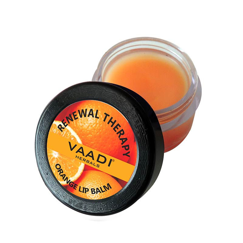 Vaadi Herbals Lip Balm - Orange