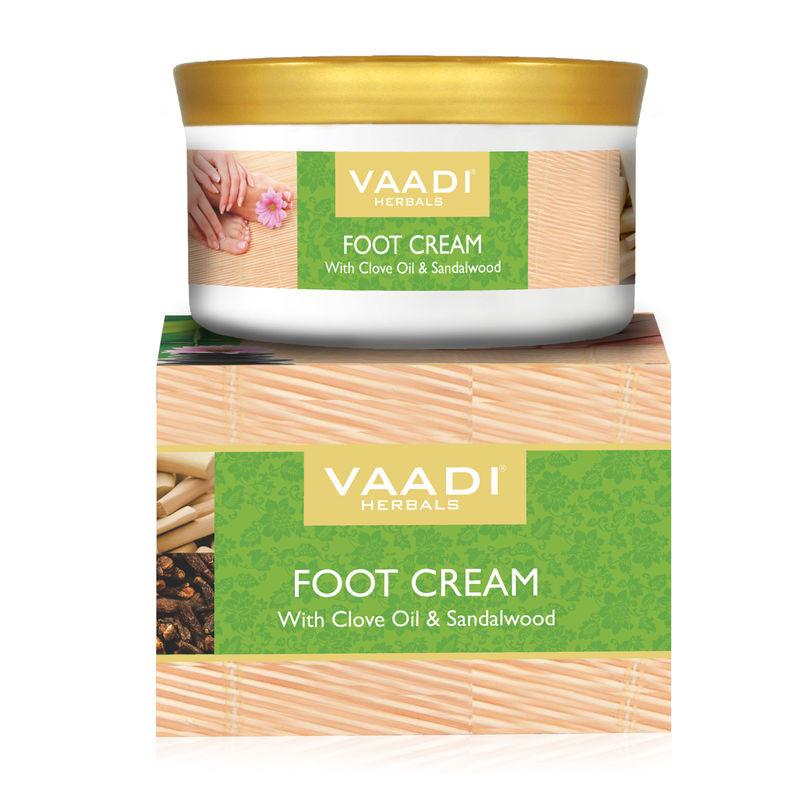 Vaadi Herbals Foot Cream With Clove Oil & Sandalwood