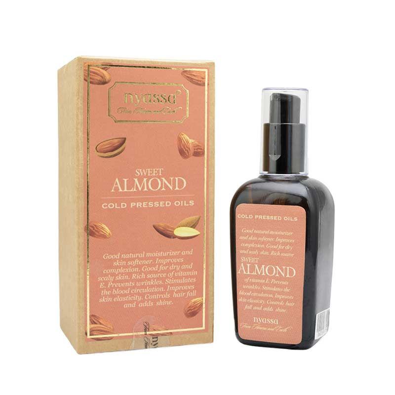 Nyassa Cold Pressed Sweet Almond Oil