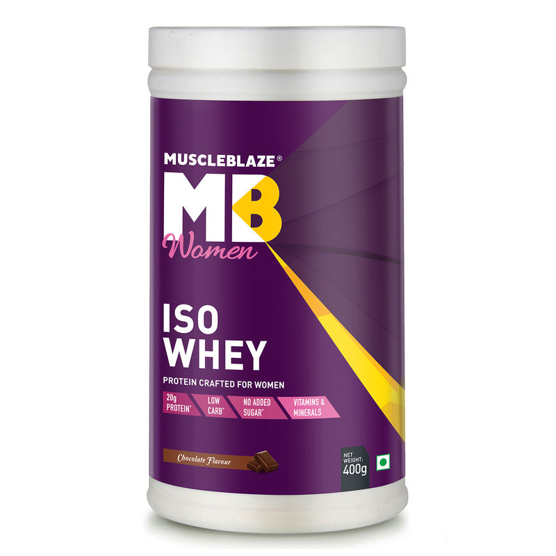 Muscleblaze Iso Whey Protein for Women   Chocolate