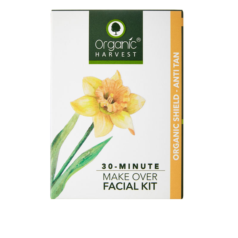 84696ed3 Organic Harvest 30-Minute Make Over Organic Shield - Anti Tan Facial Kit at  Nykaa.com