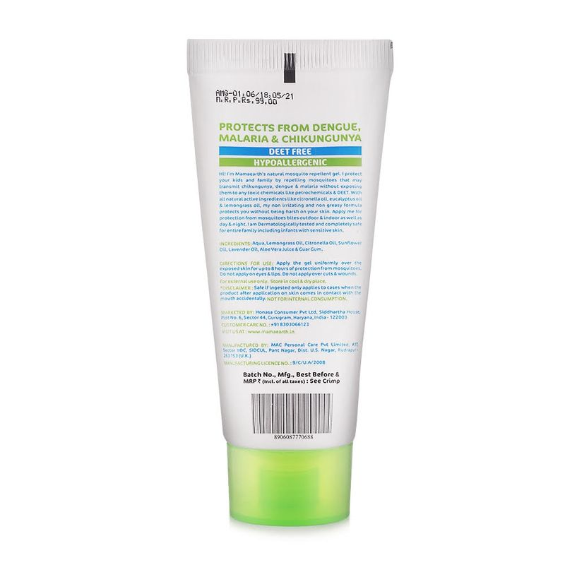 Mamaearth Natural Mosquito Repellent Gel