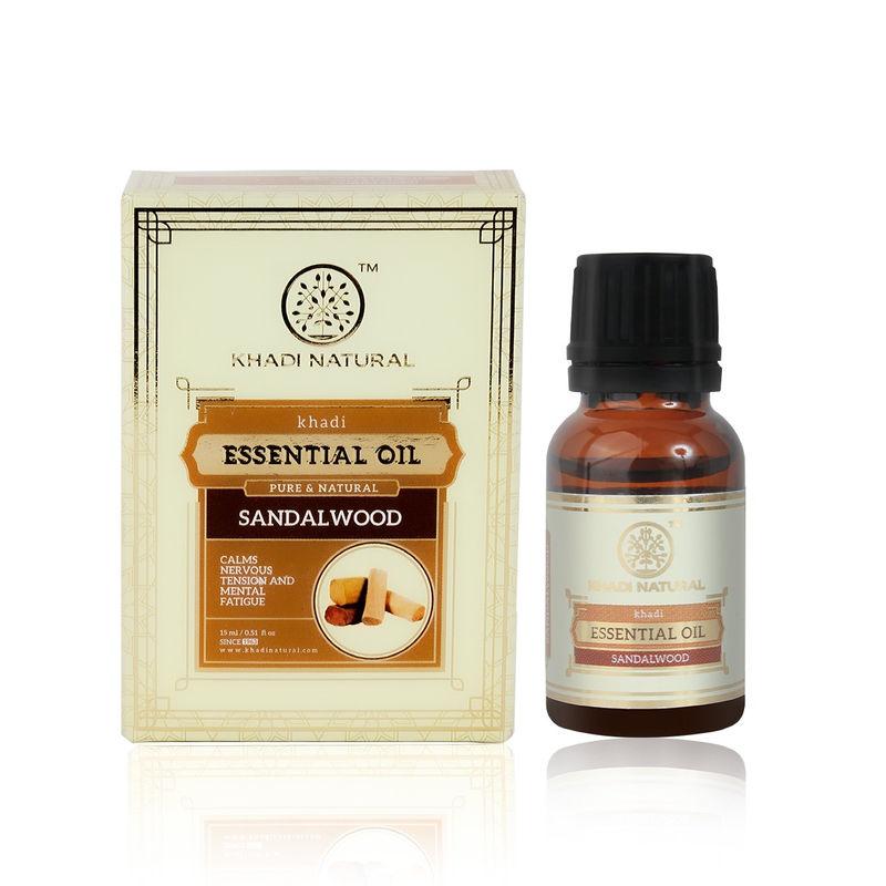 Khadi Natural Sandalwood Essential Oil