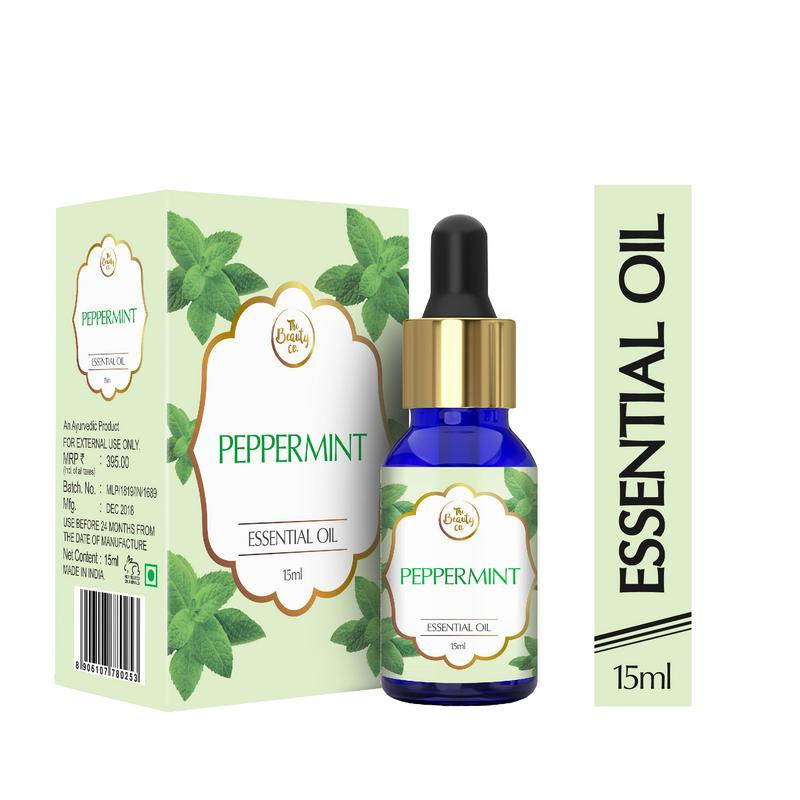 The Beauty Co. Peppermint Essential Oil