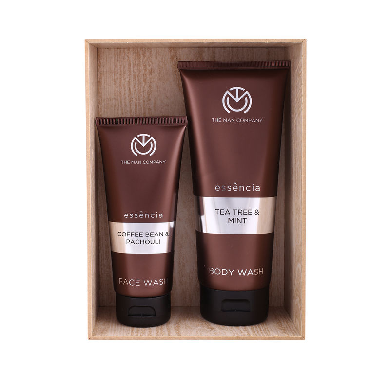 The Man Company Awesome Duo Face Wash & Body Wash - Set Of 2