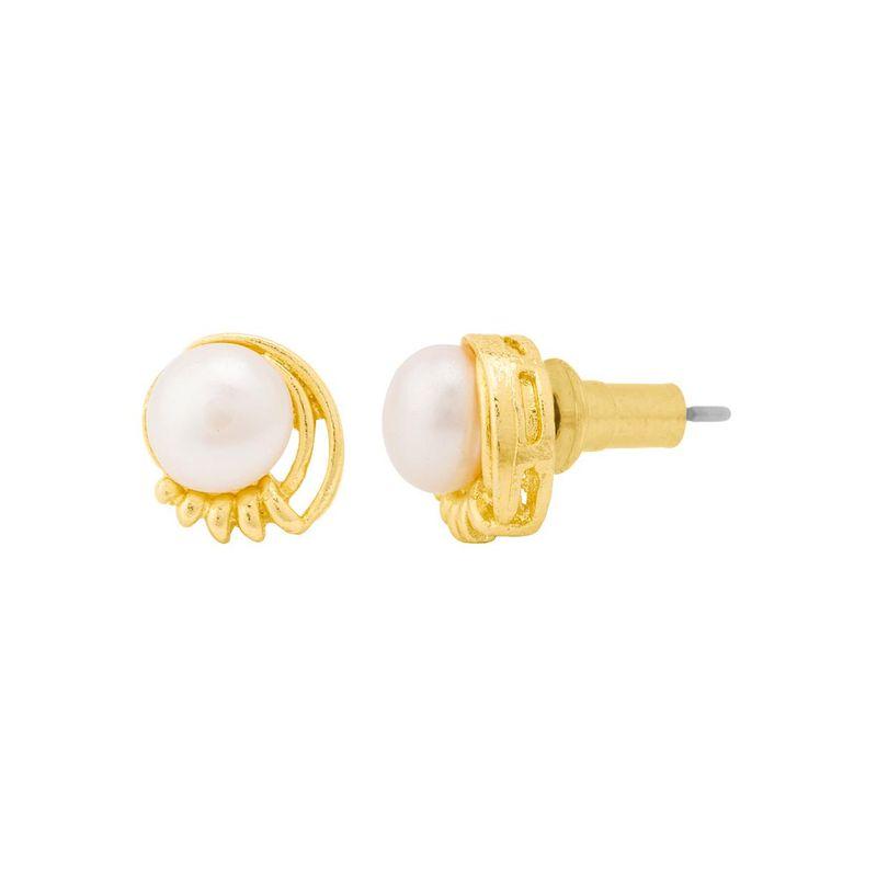 ec2df2ceb Voylla Tiny Pearl Embellished Stud Earrings at Nykaa.com