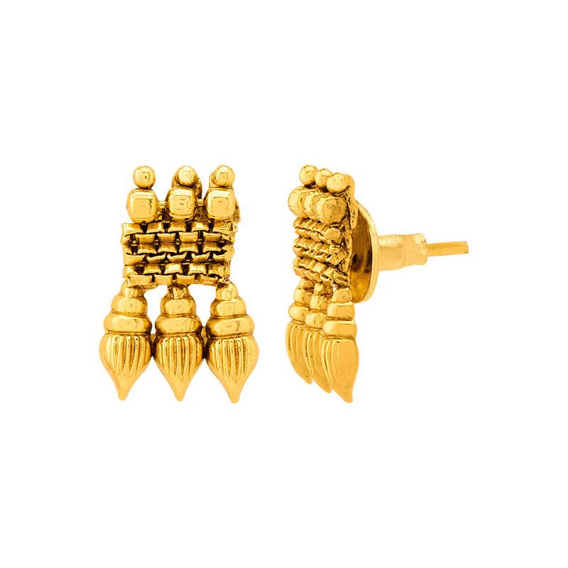 0947656141276 Voylla Gracious Gold Plated Sanskriti Necklace Set