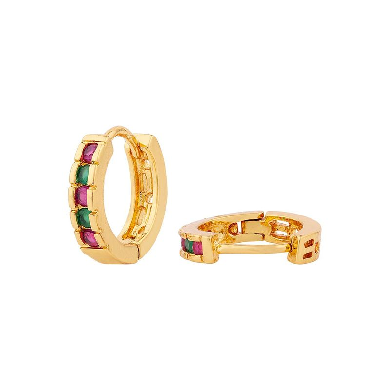 Voylla Gold Plated Small Bali Earrings At Nykaa Com