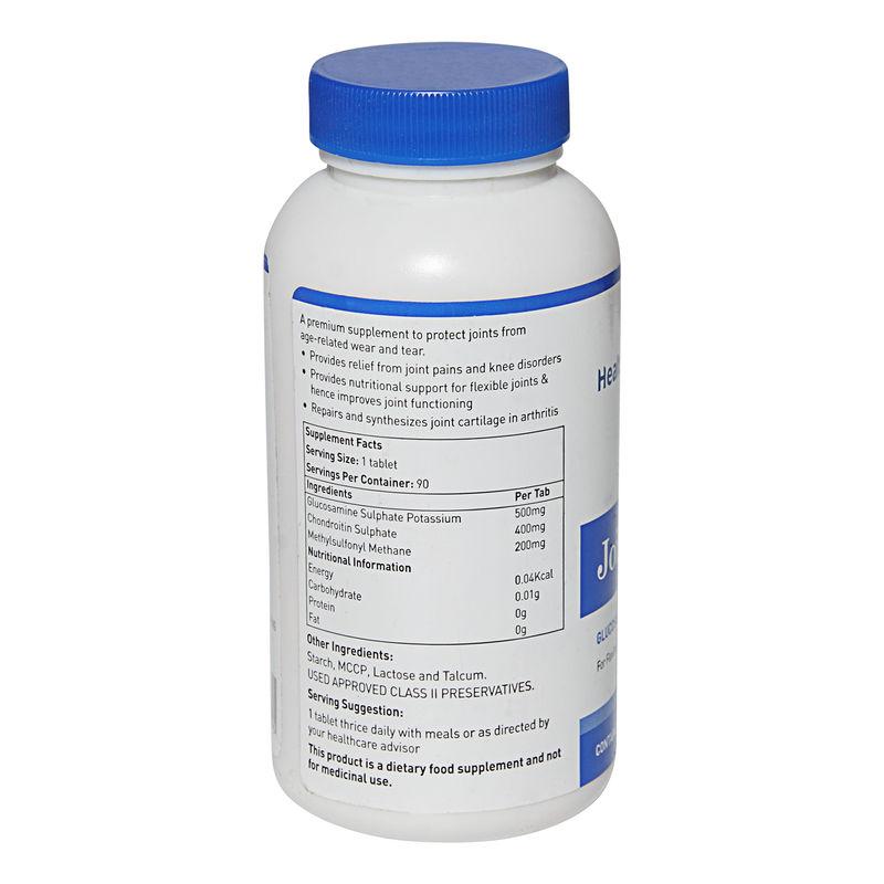HealthViva Joint Glucosamine & Chondroitin with MSM