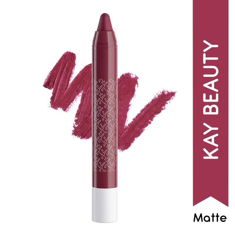 Kay Beauty Matteinee Matte Lip Crayon Lipstick