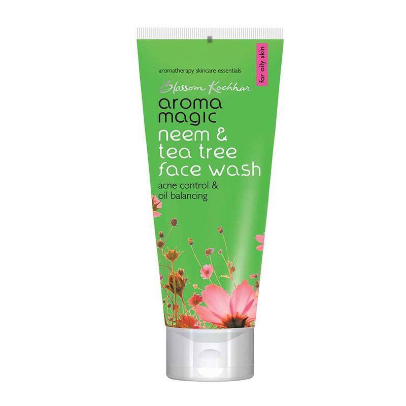 Aroma Magic Neem & Tea Tree Face Wash Acne Control & Oil Balancing (Oily Skin)