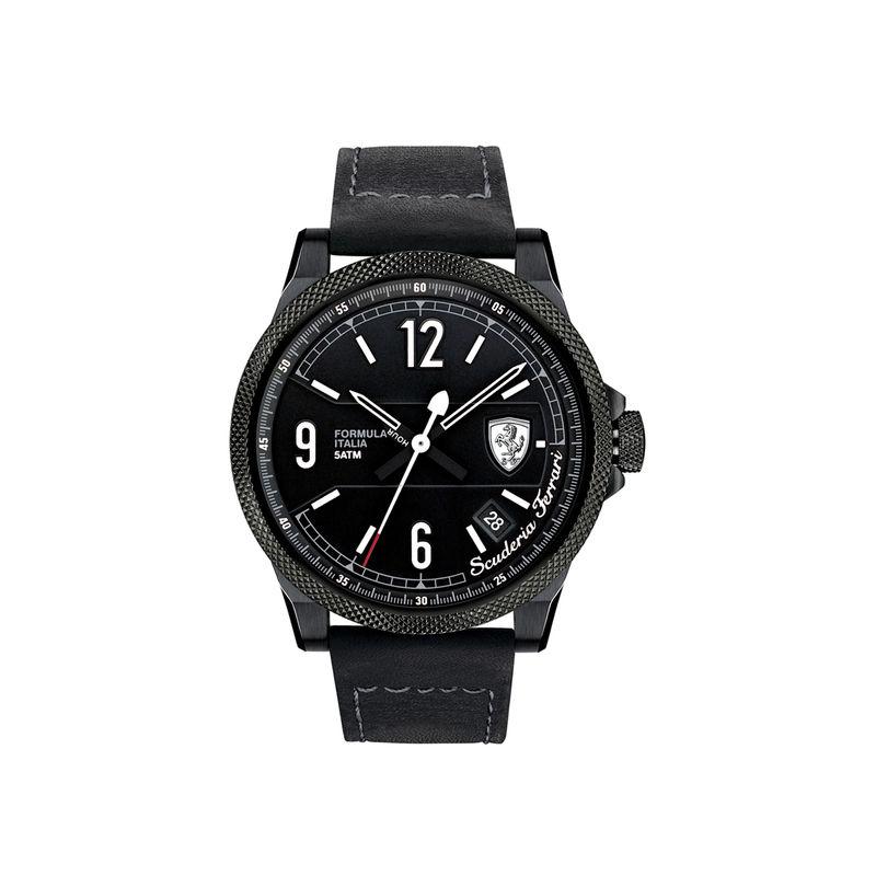 Scuderia Ferrari Formula Italia S 0830272 Black Dial Analog Watch For Men