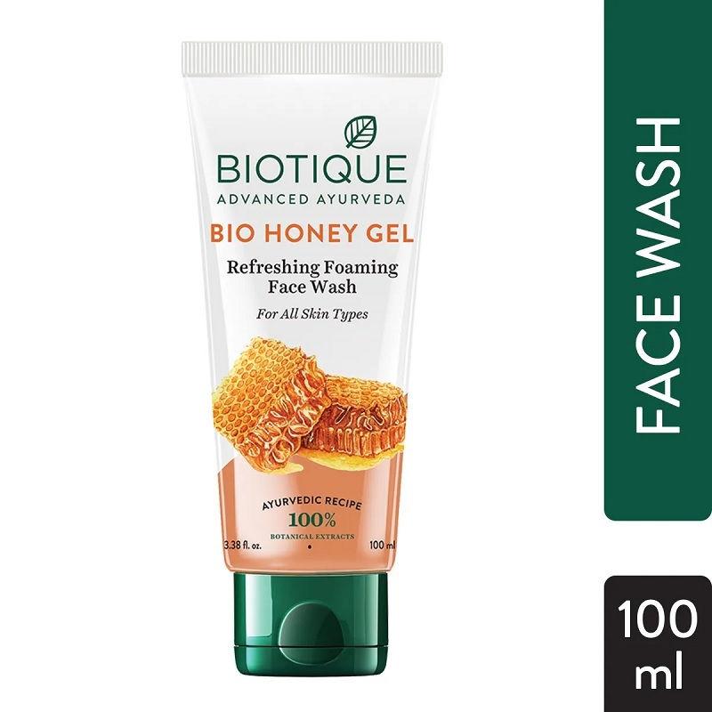 Biotique Bio Honey Gel Refreshing Foaming Face Wash