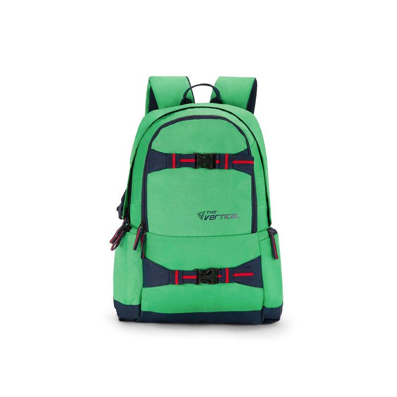 The Vertical Sage Laptop Backpack Green