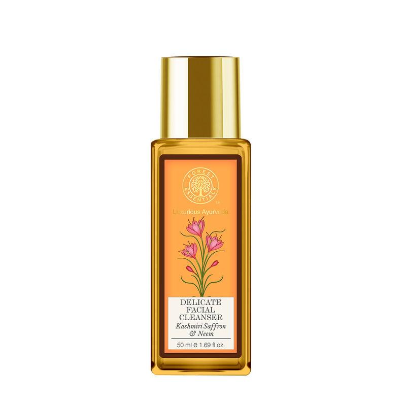 Forest Essentials Delicate Facial Cleanser - Kashmiri Saffron & Neem