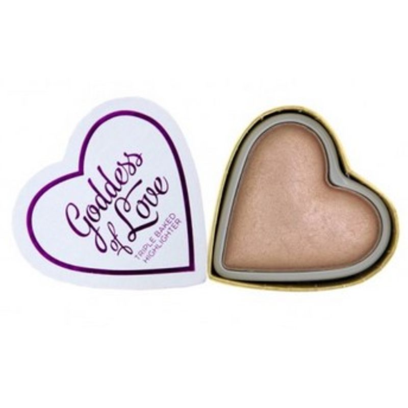 Makeup Revolution Blushing Hearts - Goddess of Love Highlighter(10gm)