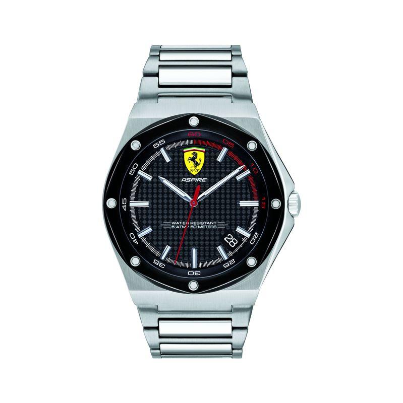 Scuderia Ferrari ASPIRE Analog Black Round Dial Men's Watch  0830666
