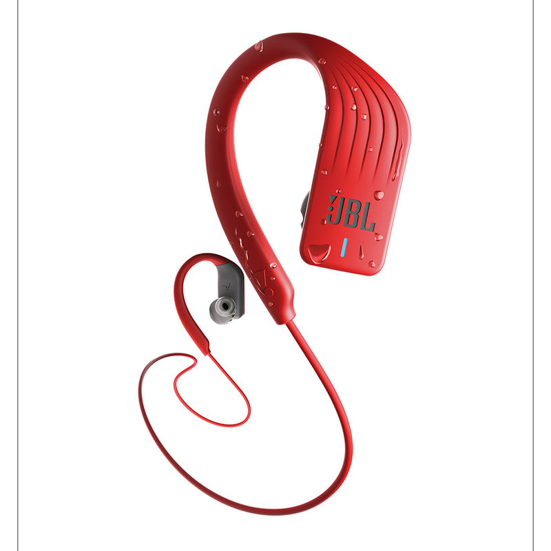 JBL Endurance Sprint Waterproof In Ear Sport Bluetooth Headphones with Touch Controls  Red