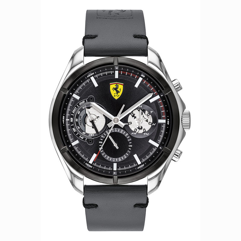 Scuderia Ferrari Speedracer 0830753 Black Dial Analog Watch For Men