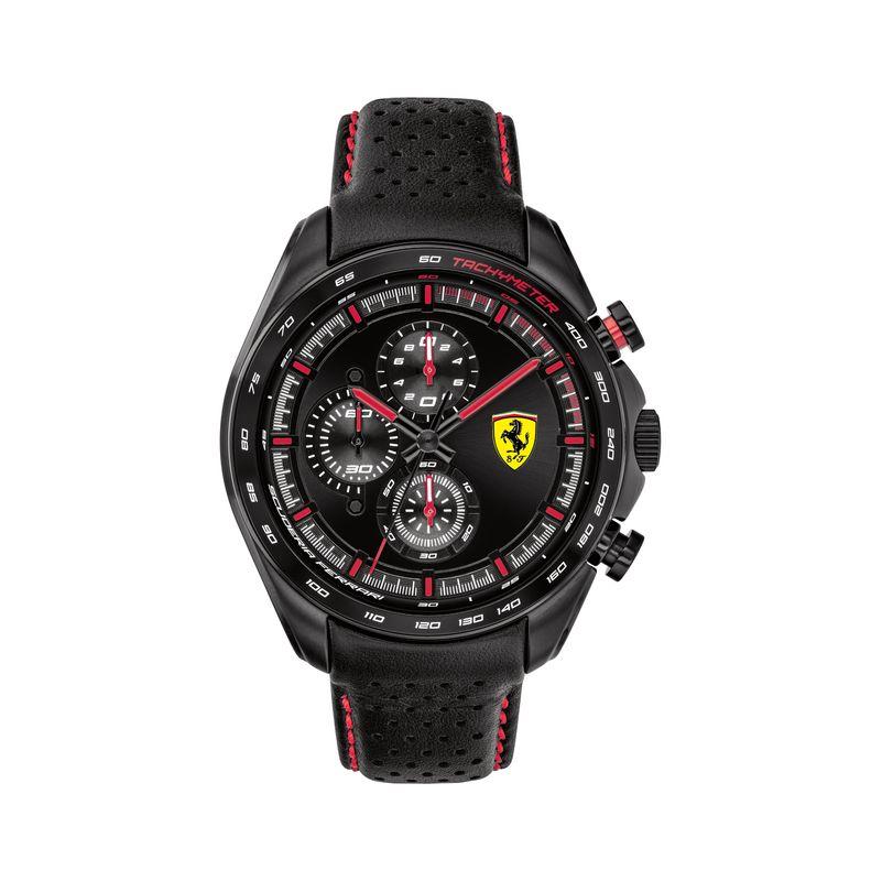 Scuderia Ferrari SPEEDRACER Analog Black Round Dial Men's Watch  0830647