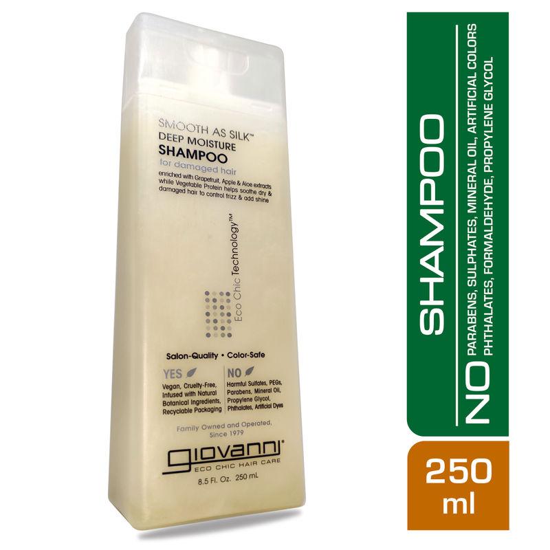 Giovanni Organic Smooth As Silk Deep Moisture Shampoo
