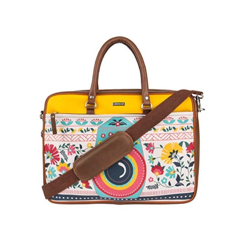 Chumbak Floral Camera Laptop Bag