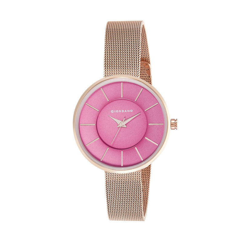 Giordano Analog Pink Dial Women's Watch  GD 4015 22