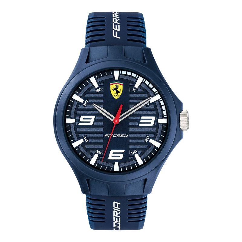 Scuderia Ferrari Pit Crew 0830779 Blue Dial Analog Watch For Men