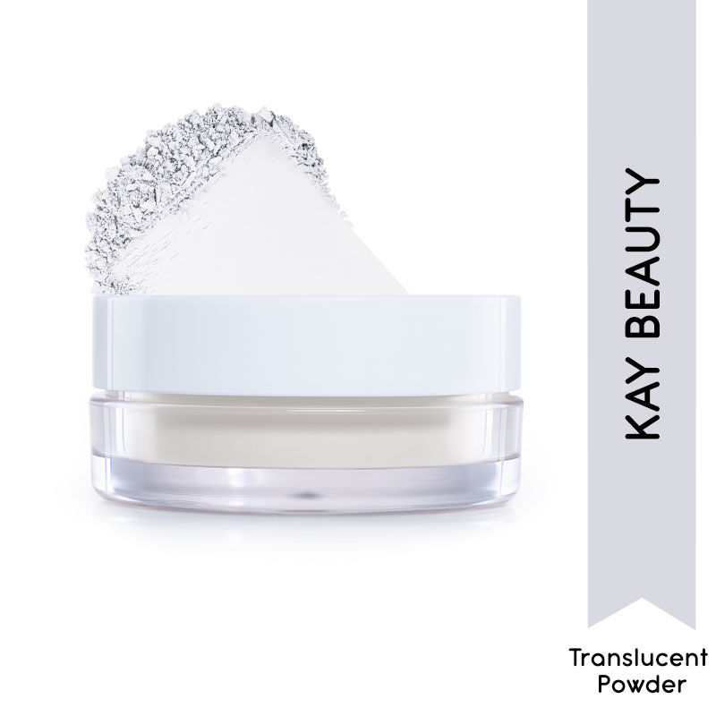 Kay Beauty HD Translucent Loose Powder - White