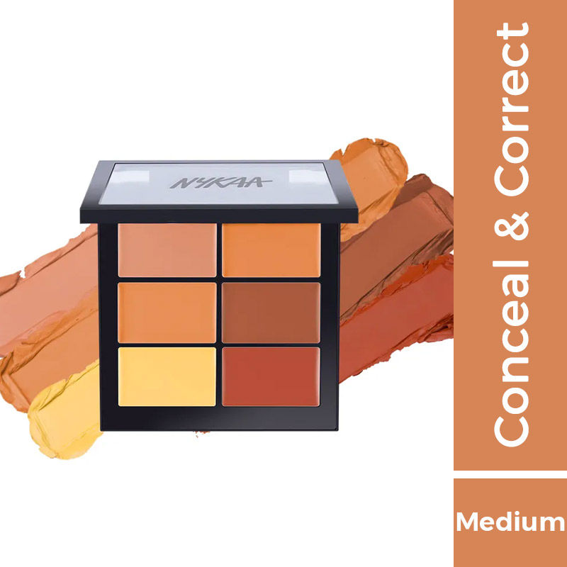 Nykaa SKINgenius Conceal & Correct Palette - Medium 02