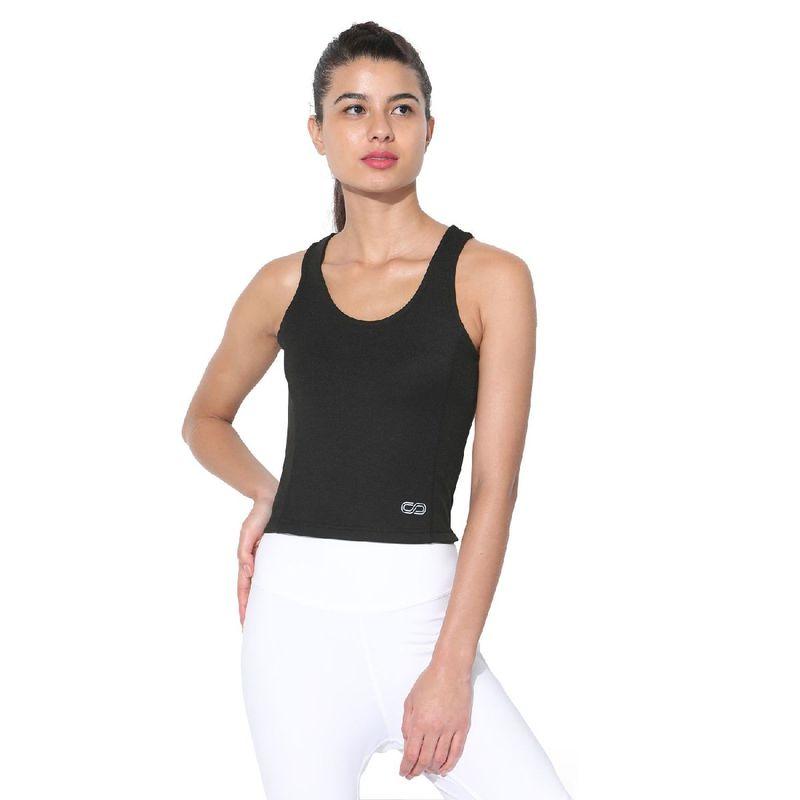 Silvertraq Women's Performance Crop Top - Black (XS)