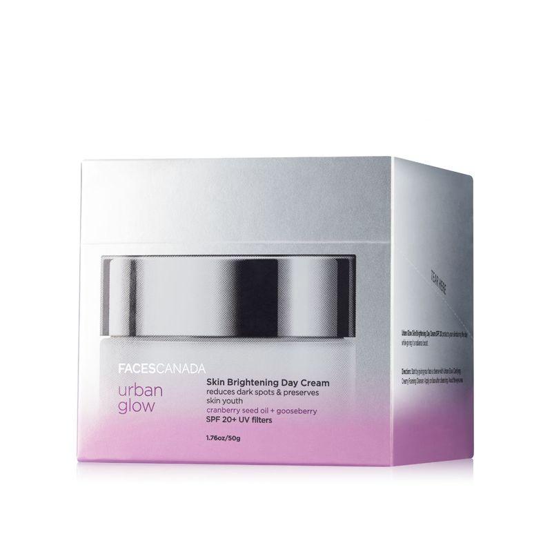 Faces Canada Urban Glow Skin Brightening Day Cream Spf 20 ...